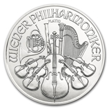Platinum Philharmonic Coins from Austria